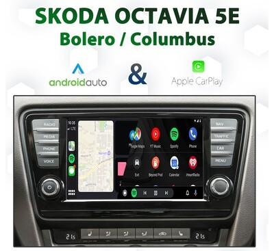 Skoda Octavia 5E 2014 ~ 2017 Apple CarPlay & Android Auto Integration