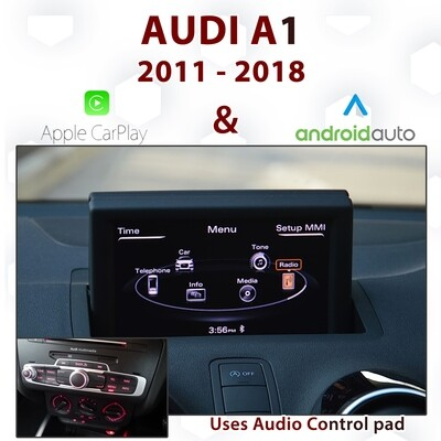 [DIAL] Audi A1 - Android auto & Apple CarPlay Integration - RMC VERSION Control pad configuration