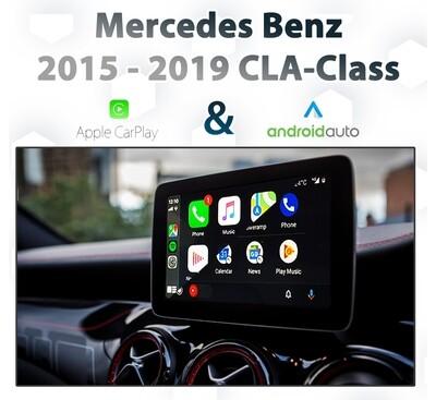 Mercedes Benz C117 CLA-Class [2015 - 2019] Apple CarPlay & Android Auto Integration