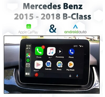 Mercedes Benz W246 B-Class [2015 - 2018] Apple CarPlay & Android Auto Integration