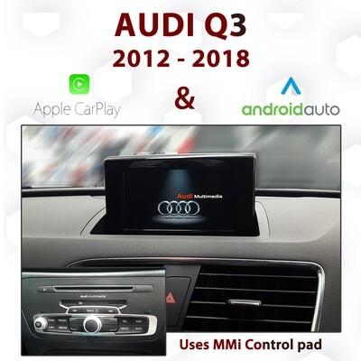 [DIAL] Audi Q3 2012-2018 - Apple CarPlay & Android Auto Integration