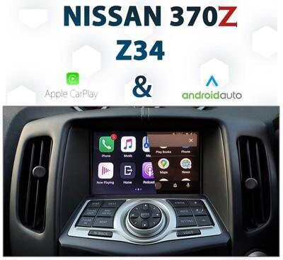 Nissan 370Z Z34 - Apple CarPlay & Android Auto Integration