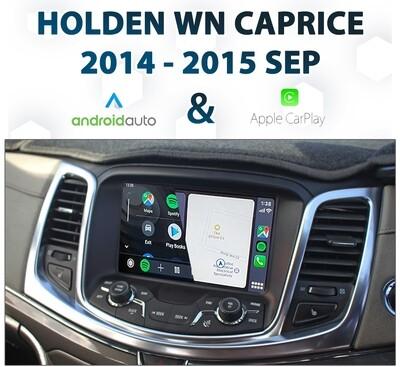 Holden WN Caprice 2014-2015 - Apple CarPlay & Android Auto Integration
