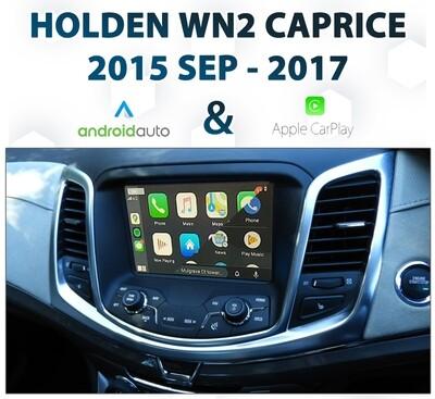 Holden WN Series II Caprice 2015-2017 - Apple CarPlay & Android Auto Integration