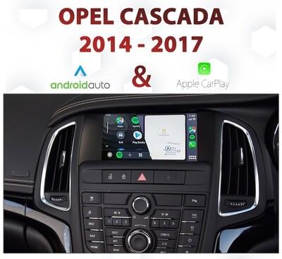 Opel Cascada MyLink - Apple CarPlay & Android Auto Integration