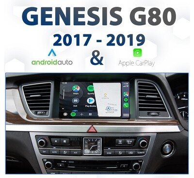 Hyundai Genesis G80 2017 - 2019 : Apple CarPlay & Android Auto Integration