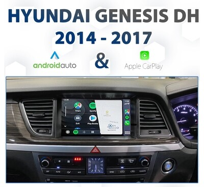 Hyundai Genesis DH Series 2014 - 2017 : Apple CarPlay & Android Auto Integration
