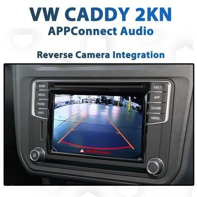 Volkswagen VW Caddy 2015 - 2020 Reverse Camera Integration for Composition Media APPConnect Audio