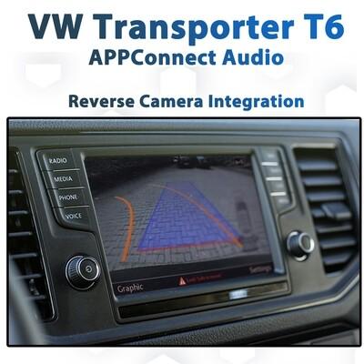 Volkswagen VW T6 Transporter Reverse Camera Integration for Composition Media AppConnect Audio