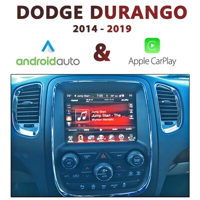 Dodge Durango 2014-18 UConnect 8.4
