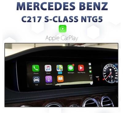 Mercedes Benz C217 S-Class Coupe NTG5 - Apple CarPlay Integration