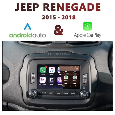 Jeep Renegade UConnect 6.5