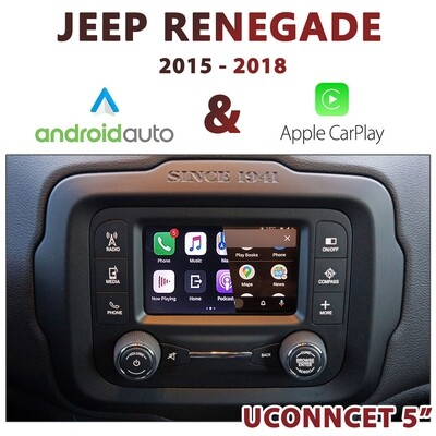 Jeep Renegade UConnect 5
