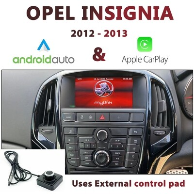 [2012-2013] Opel Insignia MyLink - Apple CarPlay & Android Auto Integration