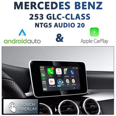 [NTG5 AUDIO20] Mercedes Benz C253/X253 GLC-Class - Touch and Dial control Apple CarPlay & Android Auto Integration