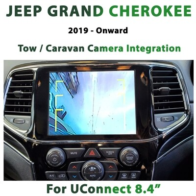 [MY19-Onward] Jeep Grand Cherokee WK2 UConnect 8.4 - Tow / Caravan Camera Integration