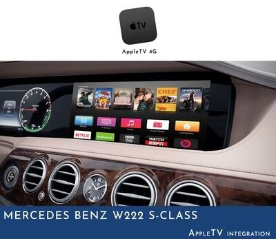 Mercedes Benz W222 S-Class NTG5 COMAND - Apple TV Integration