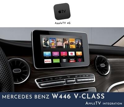 Mercedes Benz W446 V-Class NTG5 Audio - AppleTV Integration