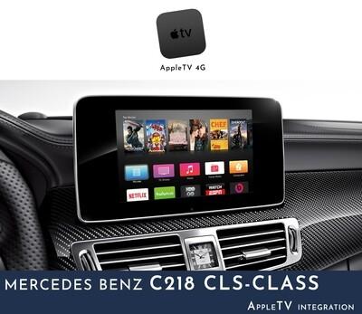 Mercedes Benz C218 CLS-Class NTG5 Audio - AppleTV Integration
