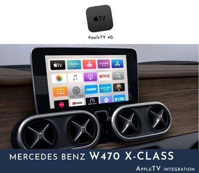 Mercedes Benz W470 X-Class NTG5 Audio - AppleTV Integration