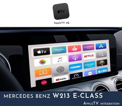 Mercedes Benz W213 E-Class NTG5 COMAND - Apple TV Integration