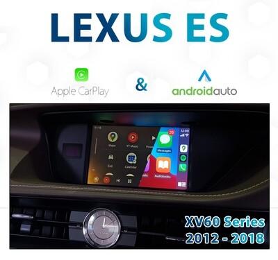 [2012-2018] LEXUS ES XV60 Series - Apple CarPlay & Android Auto Integration