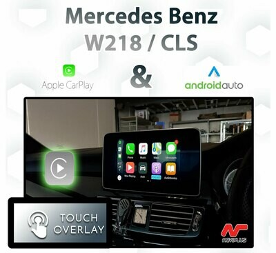 Mercedes Benz CLS - Touch and Dial control Apple CarPlay & Android Auto Integration