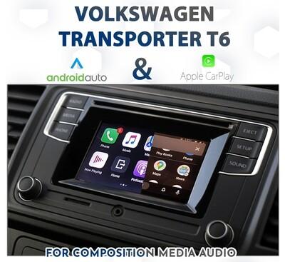 [2016-2020] Volkswagen T6 Transporter  - Apple CarPlay & Android Auto Integration