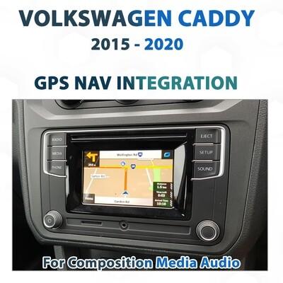 [2015 - 2020] Volkswagen Caddy 2K 3rd Gen - Sat Nav Integration for Composition Media Audio