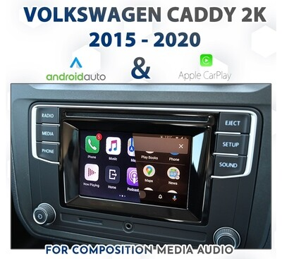 [2015-2020] Volkswagen Caddy - Apple CarPlay & Android Auto Integration