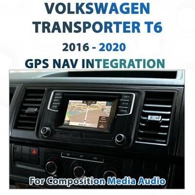 [2016 - 2020] Volkswagen T6 Transporter - Sat Nav Integration for Composition Media Audio