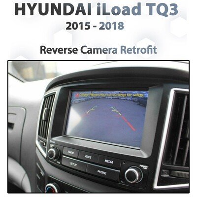 [2015-2018] Hyundai iLOAD TQ3 Reverse Camera Integration