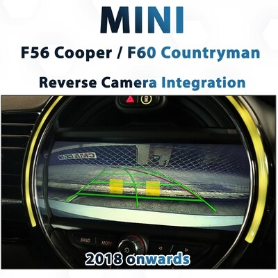 [2018+] MINI Cooper F56 / Countryman F60 - Reverse Camera Integration