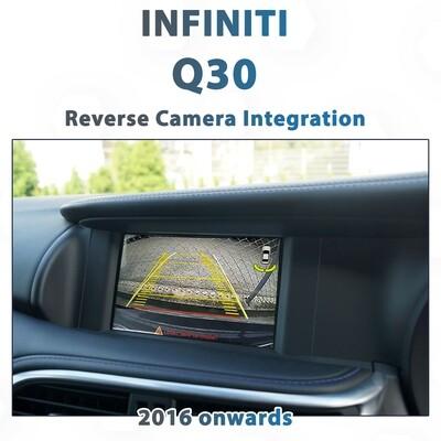[2016+] Infiniti Q30 - Reverse Camera Integration