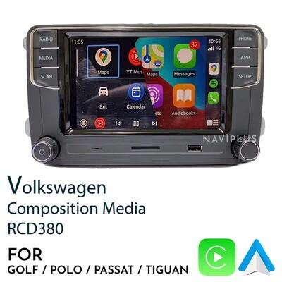 Volkswagen RCD380 - CarPlay / Android Auto Infotainment headunit