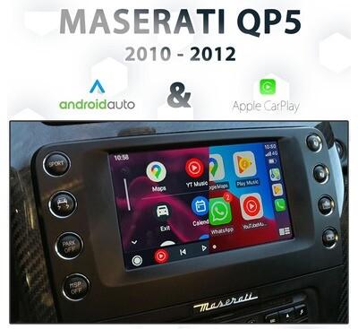 [2010-2012] Maserati Quattroporte Mk5.5 - Apple CarPlay & Android Auto Integration