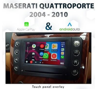 [2004-2010] Maserati Quattroporte 5th Gen- Touch Apple CarPlay & Android Auto Integration