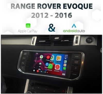 [2012-16] Range Rover Evoque IAM2 - Apple CarPlay & Android Auto Integration