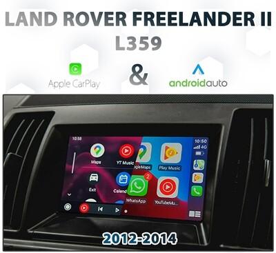 [2012-15] LAND ROVER L359 FREELANDER II - Apple CarPlay & Android Auto Integration