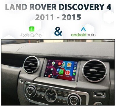 [2012-15] Land Rover Discovery 4 IAM2 - Apple CarPlay & Android Auto Integration