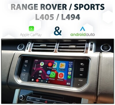 [2013-15] Range Rover / Sports - IAM2 Apple CarPlay & Android Auto Integration