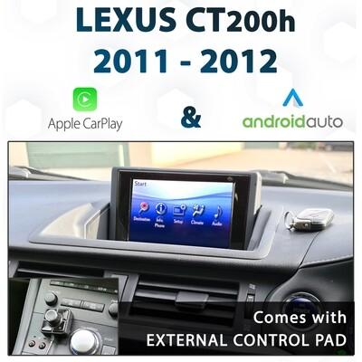 [2011-2012]Lexus CT200h - Apple CarPlay & Android Auto Integration