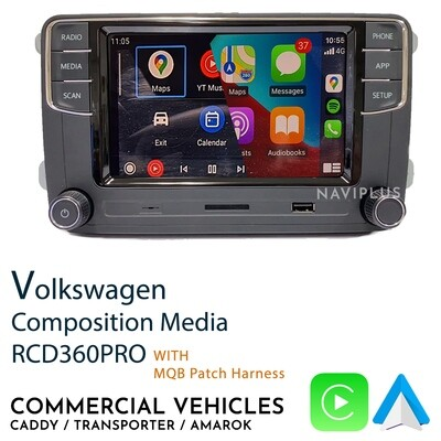 Volkswagen RCD360PRO - Commercial Vehicle package