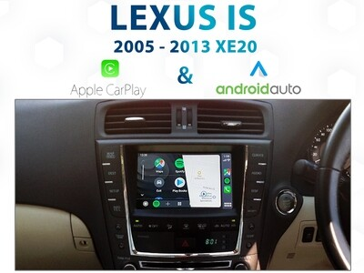 Lexus IS XE20 / GSE20R - Apple CarPlay & Android Auto Integration