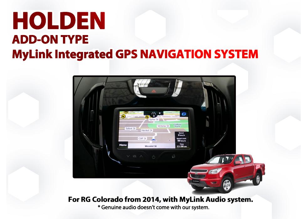 [2014 - 2016] Holden RG Colorado MyLink Add-on GPS NAV Integration