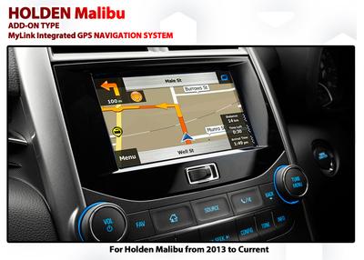 [2013 - 2015] Holden / Chevrolet Malibu MyLink Add-on GPS Navigation Audio Upgrade system