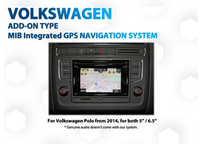 [2014 - 2017] Volkswagen Polo 6C - Composition Media Audio Add-on GPS NAV Integration