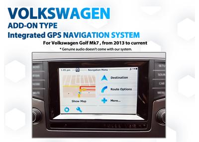 [2013 - 2018] Volkswagen Golf Mk7 Composition Media Audio add-on GPS Navigation upgrade