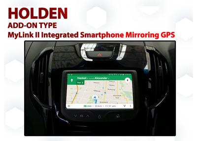 Holden Colorado - Trax - Barina MyLink Integrated Smartphone MirrorLink / AirPlay GPS system