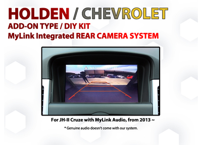Holden / Chevrolet  JH-II CRUZE - MyLink Reversing Camera Retrofit